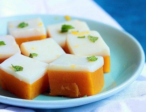 Мангово-кокосово желе с еритритол